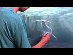 this dude is amazing How To Paint Underwater Objects - YouTube