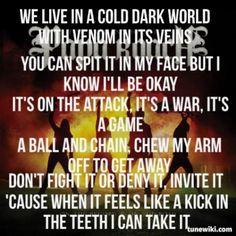 """Kick In The Teeth"" Papa Roach"