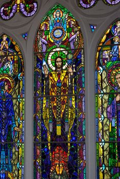 Harry Clarke Stained Glass by Charles Juszczak, via Flickr