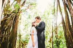 Erica & Dillon :: Oahu Hawaii { Modern Weddings } Tupou Photography #hawaii #wedding #love #beautiful