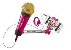 Micrófono selfi - Selfie Mic rosa http://www.milideaspararegalar.es/producto/selfie-microfono-rosa/