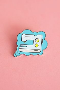 Well it is pretty much all I do --> Thinking of Sewing Pin