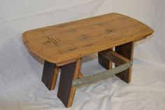 Barrel Head Foot Stool by WineyGuys on Etsy, $99.00