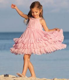This flower girl dress is under consideration - great twirl factor!!!!!!!!