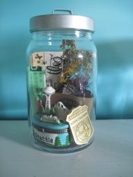 memories in a jar - for the upcoming summer? I like this and this website!