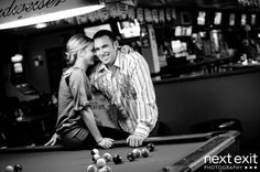 few bar engagement photos <3 these!