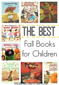 Fall Books for ChildrenJaime, 19 Sep AM We love books and we love fall! So what better than to go on a hunt for the best fall books for childr. Autumn Activities For Kids, Fall Preschool, Preschool Books, Book Activities, Preschool Activities, Fall Books, Christmas Books, Books For Boys, Childrens Books