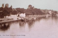 YORK, RIVER OUSE & LENDAL BRIDGE Postcard #56 Listing in the Yorkshire,England,Topographical,Postcards,Collectables Category on eBid United Kingdom