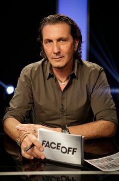 Face Off family member Patrick Tatopoulos joins the judges panel this week