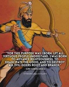 Guru Pics, Guru Gobind Singh, Righteousness, Comic Books, Good Things, Let It Be, Memes, Cover, Meme