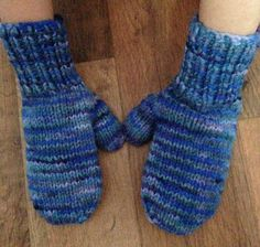 Mittens with the Rainbow hat. French Pattern, Knit Mittens, Knitting Patterns, Creations, Gloves, Etsy, Wool, Fibres, Boss