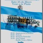 Fiesta por los 204 aniversarios de la Gesta de Mayo en la plaza