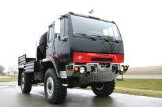 NBC Vehicles - The Bad Boy 4x4 Trucks, Fire Trucks, Military Vehicles, Military Car, Jeep Cherokee Xj, Off Road Camper, Cab Over, Steyr, Heavy Truck