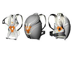 The Flo backpack - Designer: Ivan Huber
