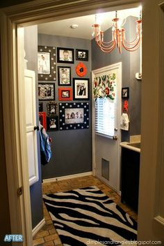 Laundry room decor home-sweet-home
