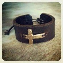 DeAnna Cochran Bronze Cross Cuff