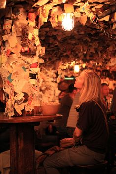 """ Bar with a 1000 notes (or more) 'For Sale' Pub, Budapest """