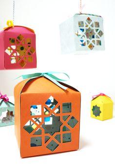 DIY: Ramadan Lanterns Giveaways ~ اصنعها بنفسك: فوانيس رمضان المرحة للتوزيعات