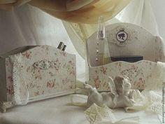 """Набор дамский """"Любимое Шебби....."""" - белый,интерьерная композиция,интерьер детской"""