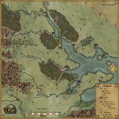 Thorian's Gate Regional Map by Sapiento on DeviantArt