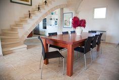 Bramato Cucine | Tavolo in stile contemporaneo in legno bubinga africana