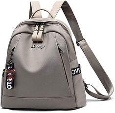 Women Backpack Waterproof Nylon Purse Rucksack Shoulder Bag Bag for Rucksack Backpack, Backpack Purse, Leather Backpack, Fashion Backpack, Travel Purse, North Face Backpack, Shoulder Strap, Satchels, Backpacks