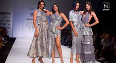 Aahana Kumra​ walked for MYNAH Designs​