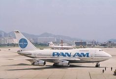 Pan Am Boeing 747SP-21 in its final livery before being sold to United Airlines during Pan Am's demise
