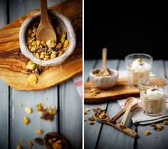 Butterscotch Pudding with Toffee Crumbles- Made for National Pudding Day.  Delicious!