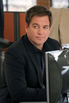 Michael Weatherly is just the cutest as Special Agent Tony DiNozzo