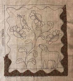 Hand Embroidery Patterns Free, Punch Needle Patterns, Hand Embroidery Flowers, Machine Embroidery, Rug Patterns, Rug Hooking Patterns, Rug Inspiration, Hand Hooked Rugs, Rug Ideas