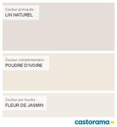 Castorama Nuancier Peinture - Mon harmonie Peinture  LIN NATUREL mat de DULUX VALENTINE Le mat