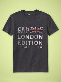 Men's Clothing: Men's Clothing: London & USA Edition T's | Gap #StationSummerOn