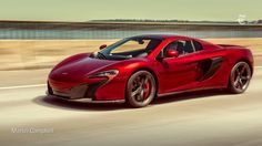 """This isn't game footage from """"Need For Speed"""" or """"Forza Horizon"""". Meet the McLaren 650S Spider http://nyti.ms/1NnVDWN"""
