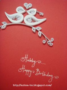 Lin Handmade Greetings Card