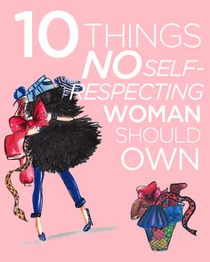 10 Things No Self-Respecting Woman Should Have In Her Closet