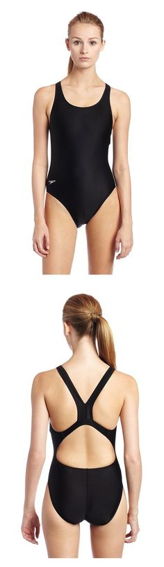 c084c66b8c $25 - Speedo Women's PowerFLEX Eco Race Solid Super Pro One Piece Swimsuit  Black #speedo