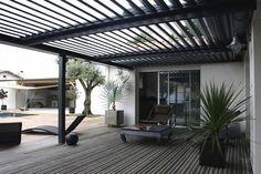 Aluminium bioclimatic pergola with mobile slats - SOLISYSTEME