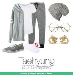 este outfit es simple y algo deportivo, se ve cómodo y es lindo