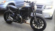 Blacked out full throttle | Ducati Scrambler Forum