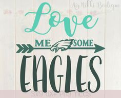 Download Philadelphia Eagles SVG File | Cameo Silhouette Projects ...