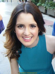 Laura Marano- from the Disney Channel hit series:Austin and Ally--I love her hair!