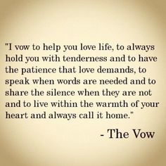 Best love Sayings & Quotes QUOTATION – Image : As the quote says – Description Sweet Wedding Vows | … . Proposal. Love. / The Vow! Such sweet wedding vows. | We Heart It Sharing is Love – Don't forget to share this quote and share the love !