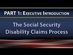 Social Security Disability Claims Process - YouTube