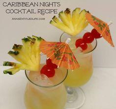 Caribbean Nights Cocktail Recipe