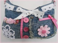 Recycled Denim Handbag £20.00