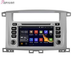 7'' Quad Core Android 5.1 Car Stereo GPS For TOYOTA LAND CRUISER 100 1998-2007/LC 100/Lexus LX 470 With DVD Radio Free Shipping