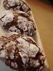 brownie cookies. @Kat Bott we need to make these.