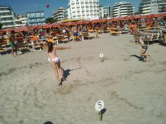 Baseball in spiaggia