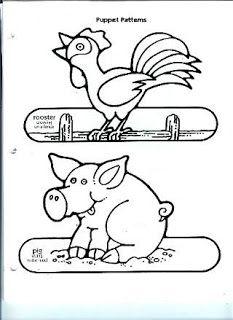 FARM ANIMALS FINGER PUPPET | learningenglish-esl